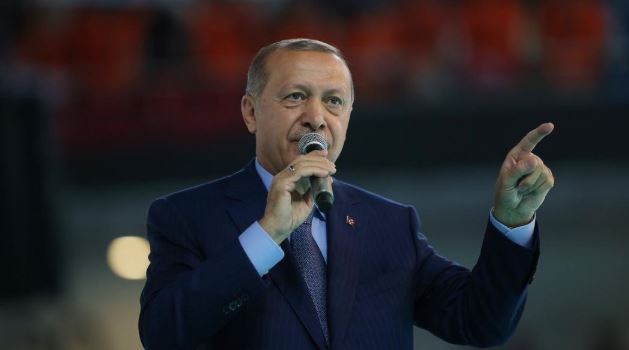 Erdogan urges people to switch to local money
