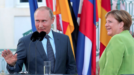 Are Germany and Russia friends?