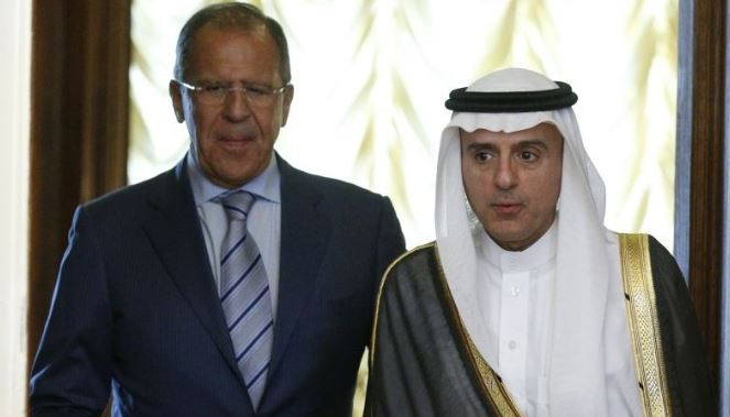 Russian, Saudi foreign ministers meet in Moscow