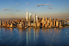 Freedom Tower rises in New York