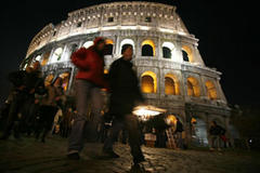 Rome protests against death penalty