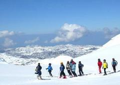 Snow no problem for Middle Eastern ski resorts