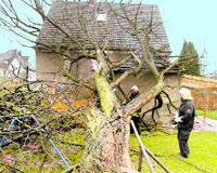 Europe buffeted by rain and strong wind, killing 12