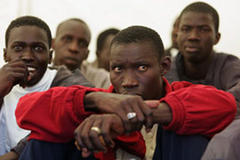 Spain expels hundreds of Africans