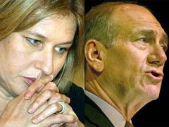 Livni lines up for top job as Olmert falters