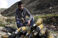 Israeli use of cluster bombs probed