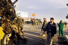 Afghan suicide bombing wounds 12