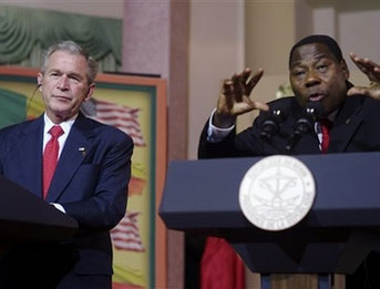 Bush: US is engaged in African conflicts