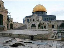 Excavations caused collapse in the Aqsa Mosque's yards