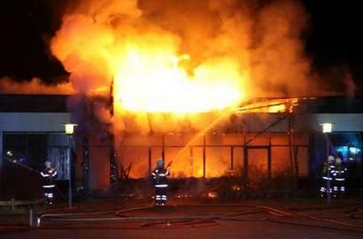 Danish school set ablaze in ongoing wave of arson