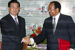 China offers Cameroon $100 m in aid