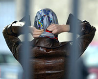 Headscarved women want freedom for all