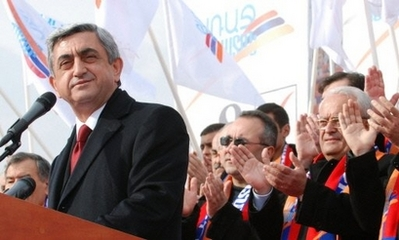 Armenians vote for president, PM expected to win