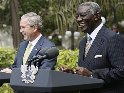 Bush: No new bases in Africa