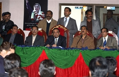 Bhutto's party wants Musharraf ally in coalition
