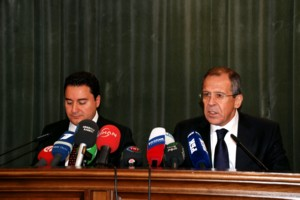 Babacan, Lavrov hold press conference