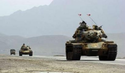 Turk troops clash with Kurd security forces in NIraq