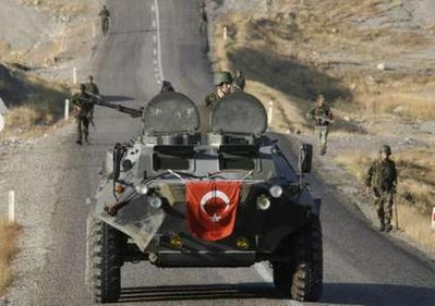 'Thousands of troops' in N. Iraq: Turkish army source
