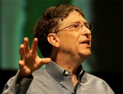 Gates sees diminished role for keyboards