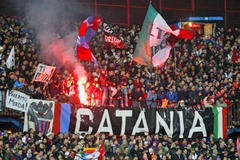 Policeman killed in football riot