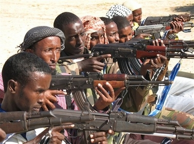 Somali Islamists kill 7 govt troops in southern town