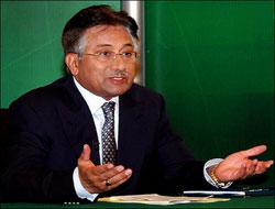 Musharraf 'to complete his term'