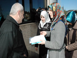 Mixed implementation of headscarf ban in Turkey