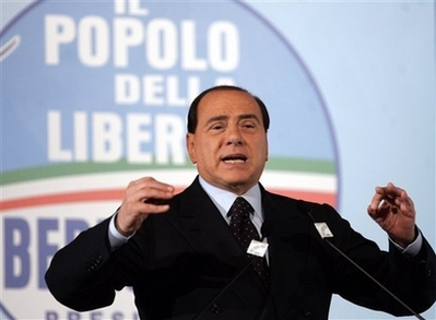 Berlusconi trial suspended until after Italy's elections