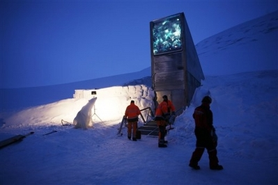 `Doomsday' vault opens to protect seeds