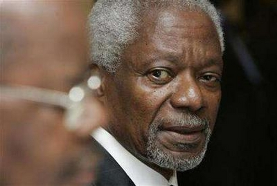 Annan suspends Kenya talks to consult leaders