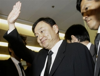 Thaksin barred from leaving Thailand