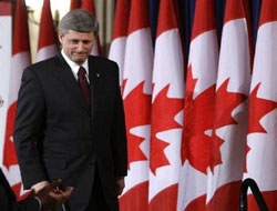 Canadian government survives first budget vote