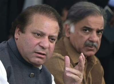 Pakistani court acquits Sharif's brother in murder case