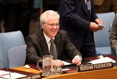 Russia heads UN Security Council
