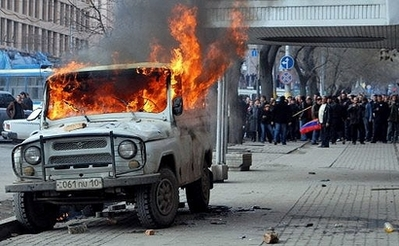 Eight killed in Armenian protests - police