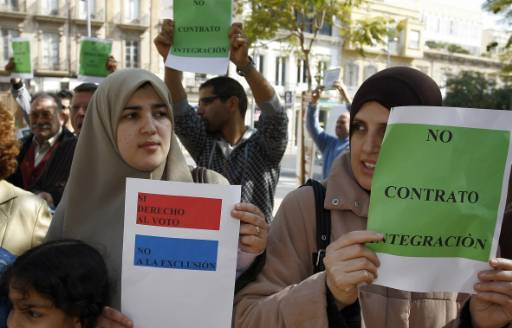 Spanish Muslims protest opposition leader's remarks