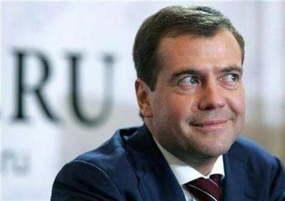 Medvedev wins Russian election with 70.23 pct