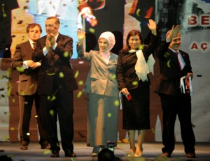 Turkish PM urges women to have at least three kids