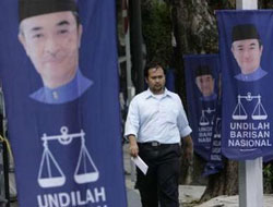 Voting under way in Malaysia