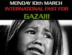 Fast For Gaza!