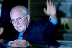 Cheney concerned over China's rise