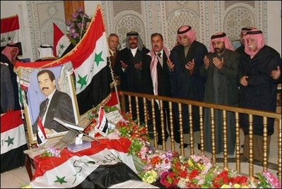 Saddam's grave monument destroyed, allies moved his corpse