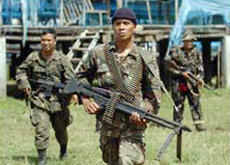 Manila Troops on Know-Muslims Mission