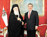 Orthodox leader urges Christians to pull together