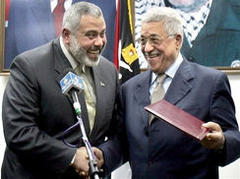 Palestinians agree unity government