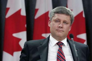 Canadian conservatives lead in opinion poll