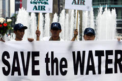 Assembly demands 'right to water'