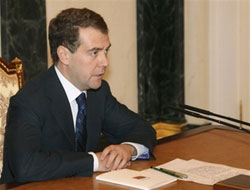 Russia's Medvedev forms anti-corruption council