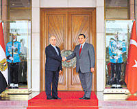 Sezer, Mubarak confirm strategic ties in Ankara