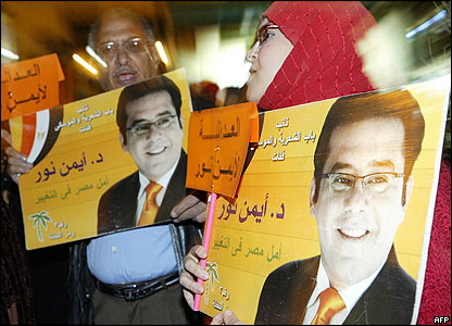 Egypt court keeps jailed Nur cut off from outside contacts